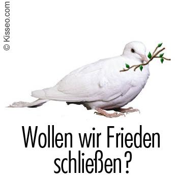 Wollen wir Frieden schließen?