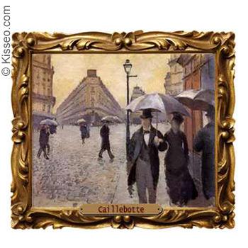 Regentag in Paris - Gustave Caillebotte
