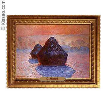 Strohschober - Claude Monet
