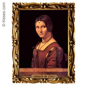 Bildnis einer jungen Frau - Leonardo da Vinci