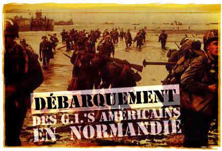 Débarquement des G.I.'s en Normandie