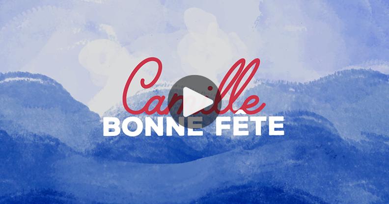 Carte Le prénom Camille