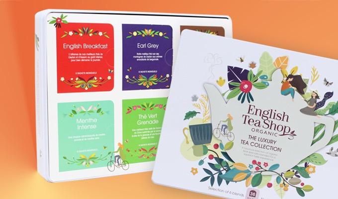 Coffret de thé Luxury