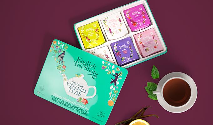 Coffret de thé Bio bien-être