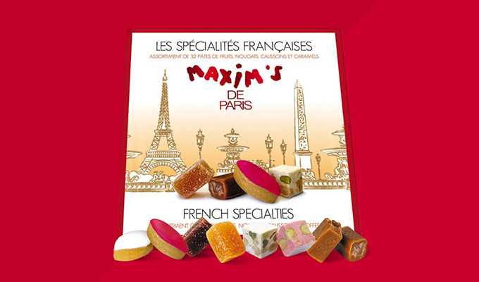 Coffret de 32 confiseries spécialités françaises