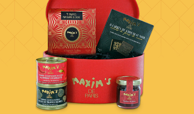Coffret assortiment gourmand Maxim's