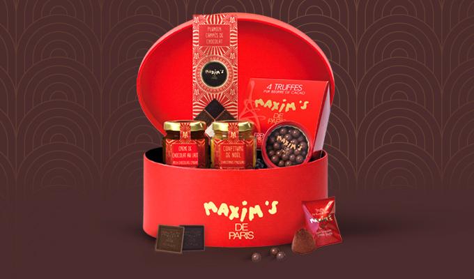 Coffret Maxim's Rouge Baiser