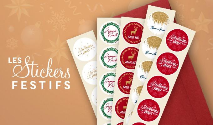 Stickers de Noël