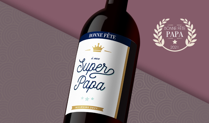 Bordeaux Supérieur2016, cuvée«superpapa»