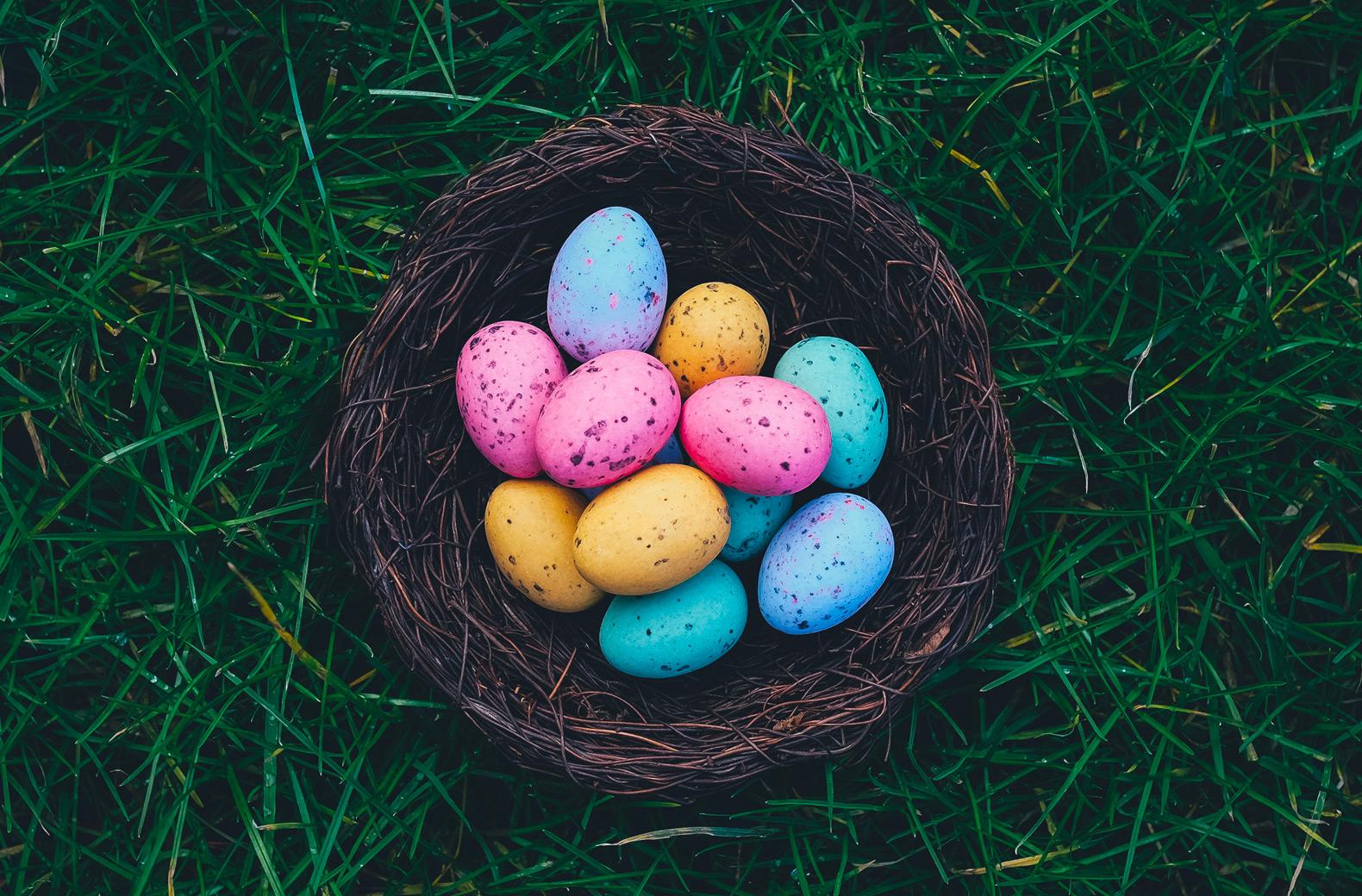 Carte papier Joyeuses Pâques