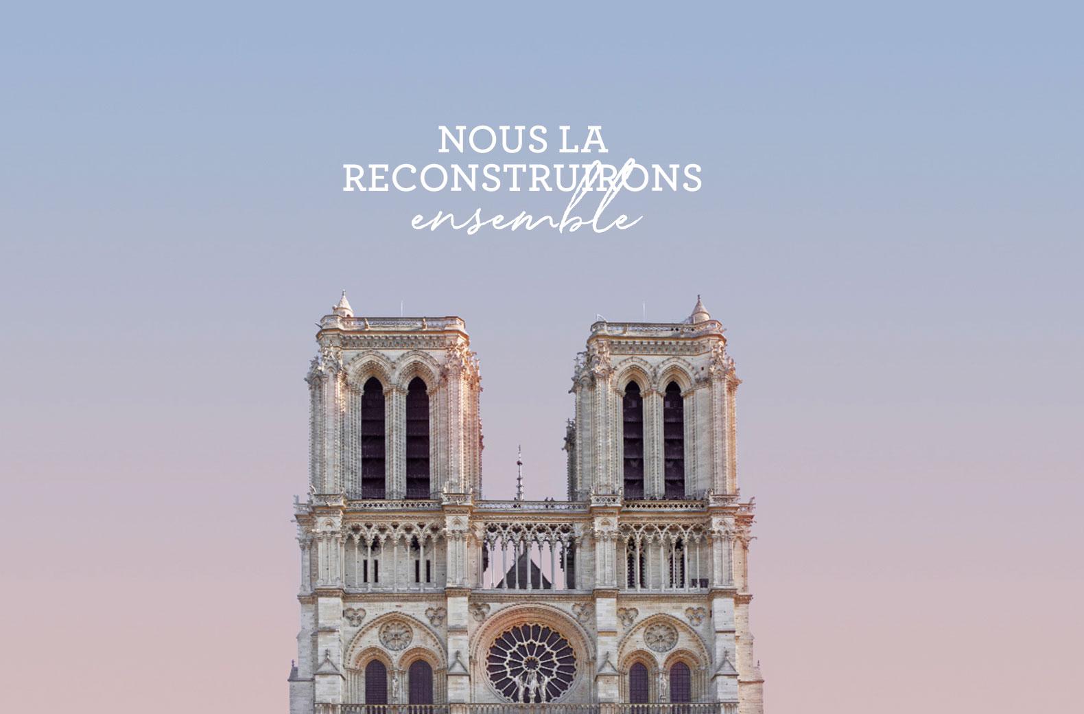 Carte animée Notre Dame de Paris