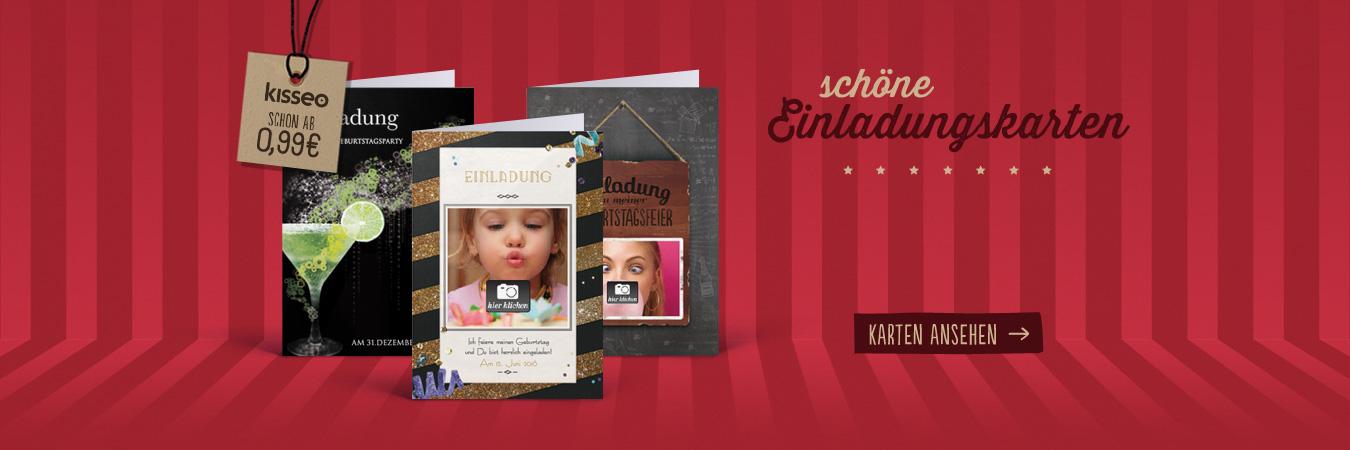 gedruckte oder virtuelle Einladungskarten