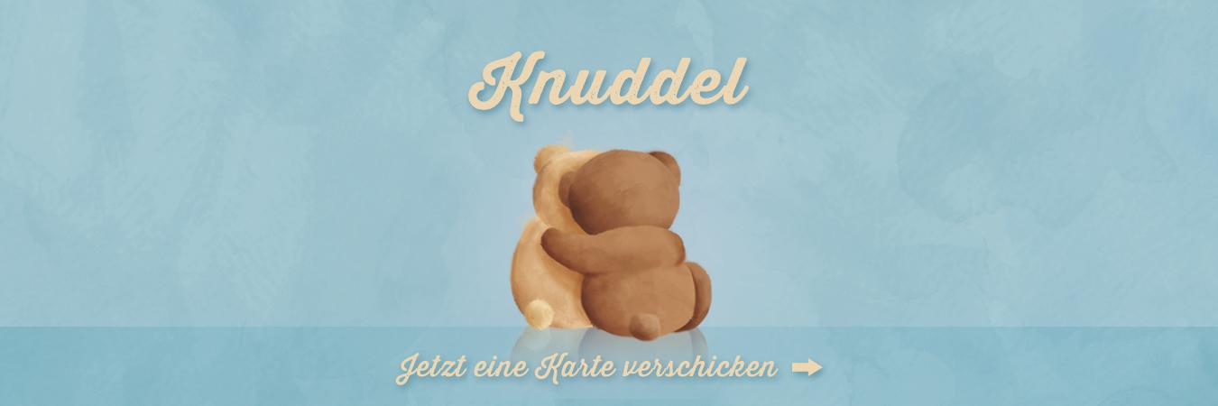 Virtuelle Grußkarten: Küsse, Küsschen, Knuddel