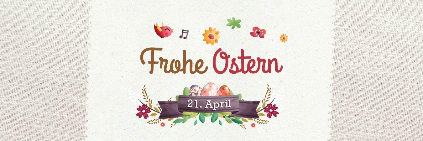 Ostern - kostenlose Grußkarten