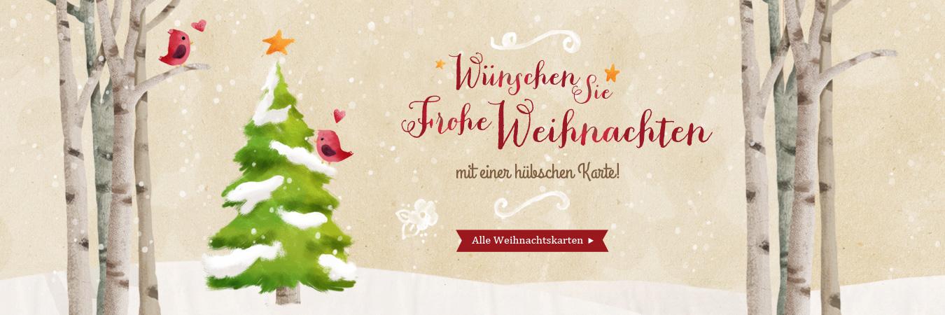 kostenlose Weihnachtskarten