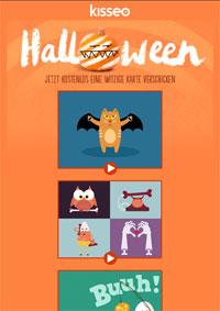 Halloween kostenlose Karten