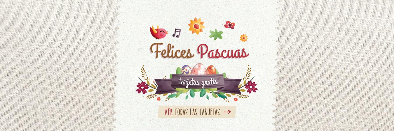 Tarjetas Felices Pascuas