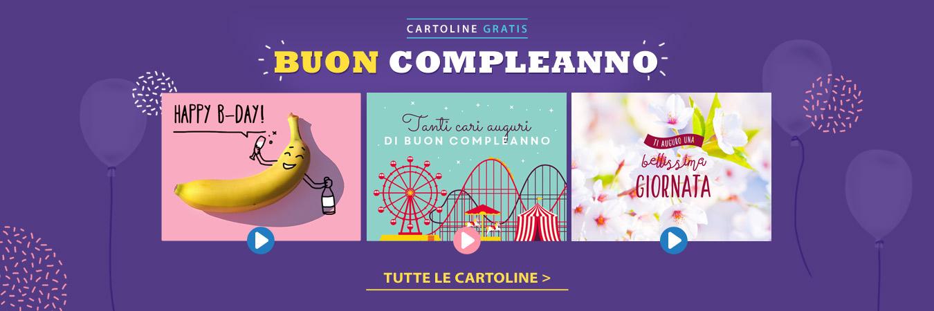 Cartoline di Auguri di Buon Compleanno