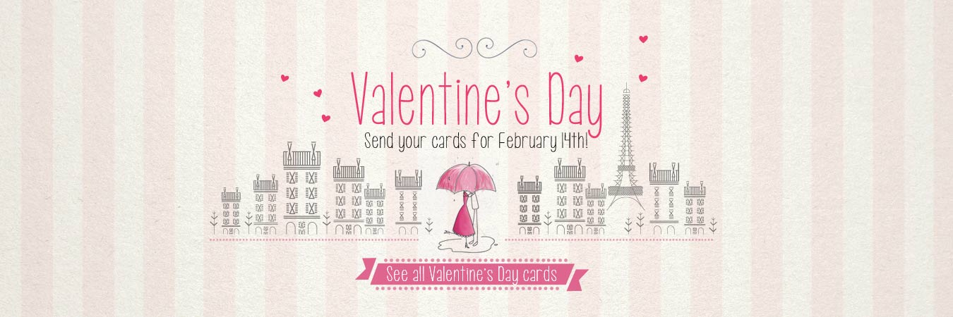 Virtual cards : Valentine's Day