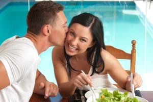 Küssen macht gesund und glücklich
