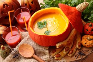 recettes et boissons d'Halloween