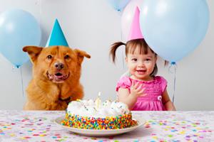 Lui souhaiter un joyeux anniversaire, avec humour