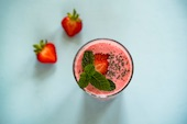 Smoothie fraise