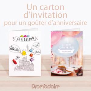 Magnifique Invitations anniversaire pour enfant &GN_53