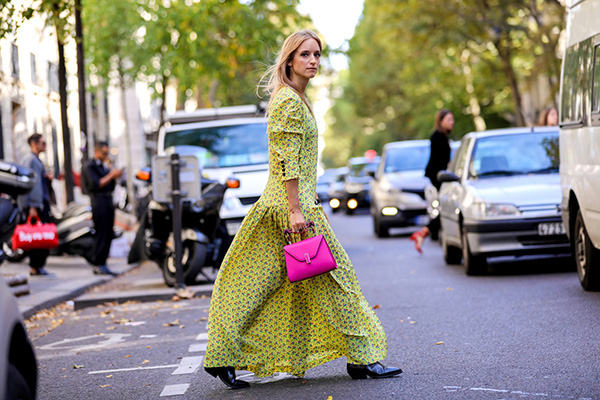 Photos prises lors de la Paris Fashion Week