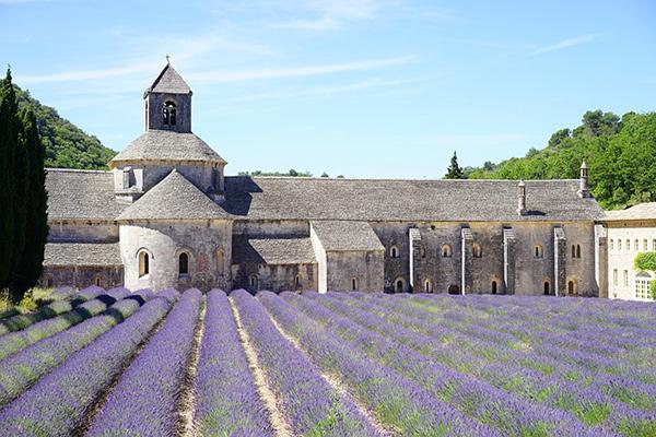 Abbaye de Sénanque, dans le Vaucluse