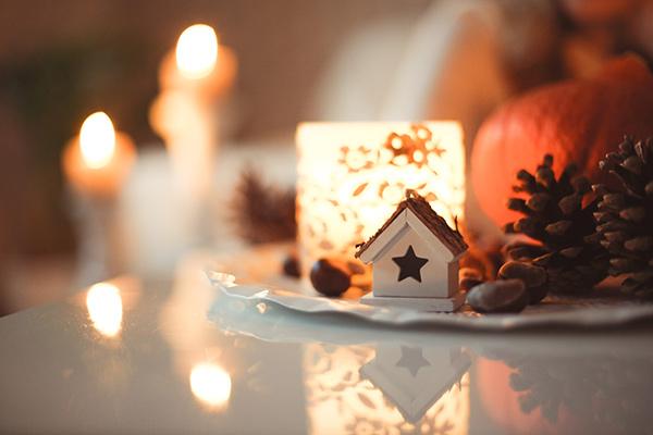 Ambiance de Noël chaleureuse, Photo de Sweta Meininger