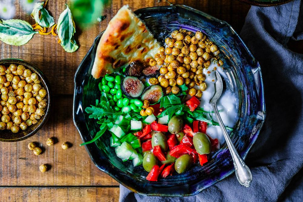 Belle assiette saine et gourmande
