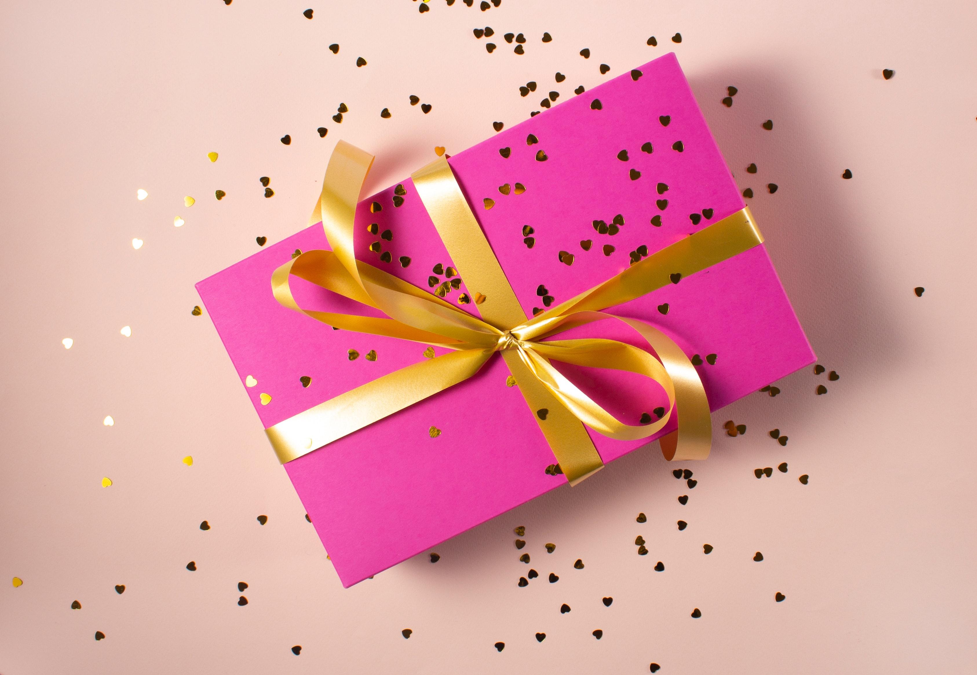 Un cadeau rose