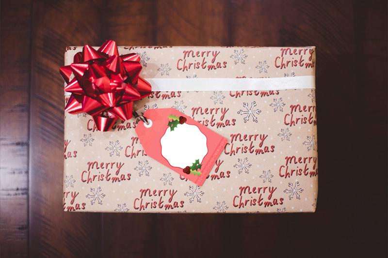 Étiquettes pour les cadeaux de Noël