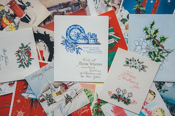 Cartes de Noël anciennes