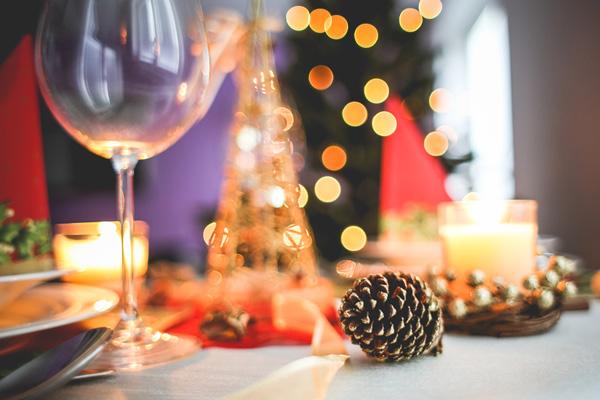 Déco de table de Noël