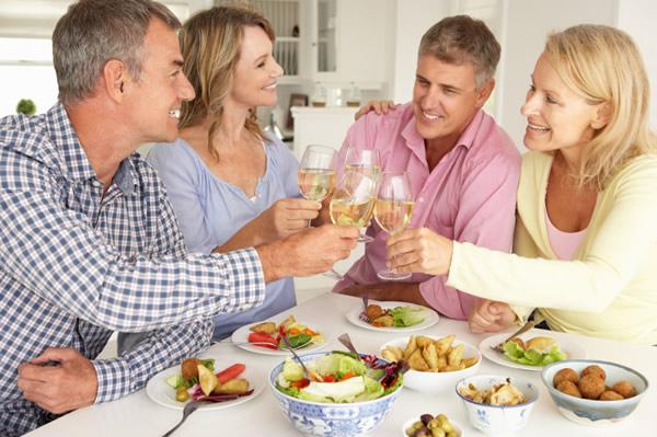 Remerciements apr s une invitation for Dinner entre amis