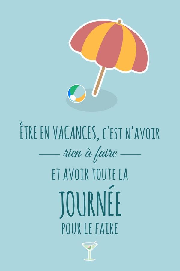 Citations Sur Le Thème Des Vacances