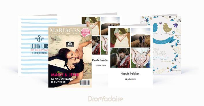 Faire-part de mariage Dromadaire