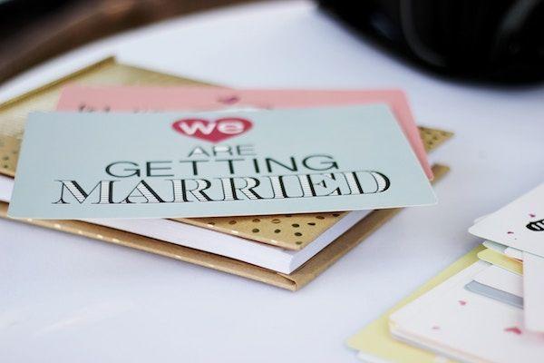 Le Faire Part De Mariage