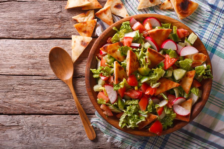 Fatouche, salade orientale