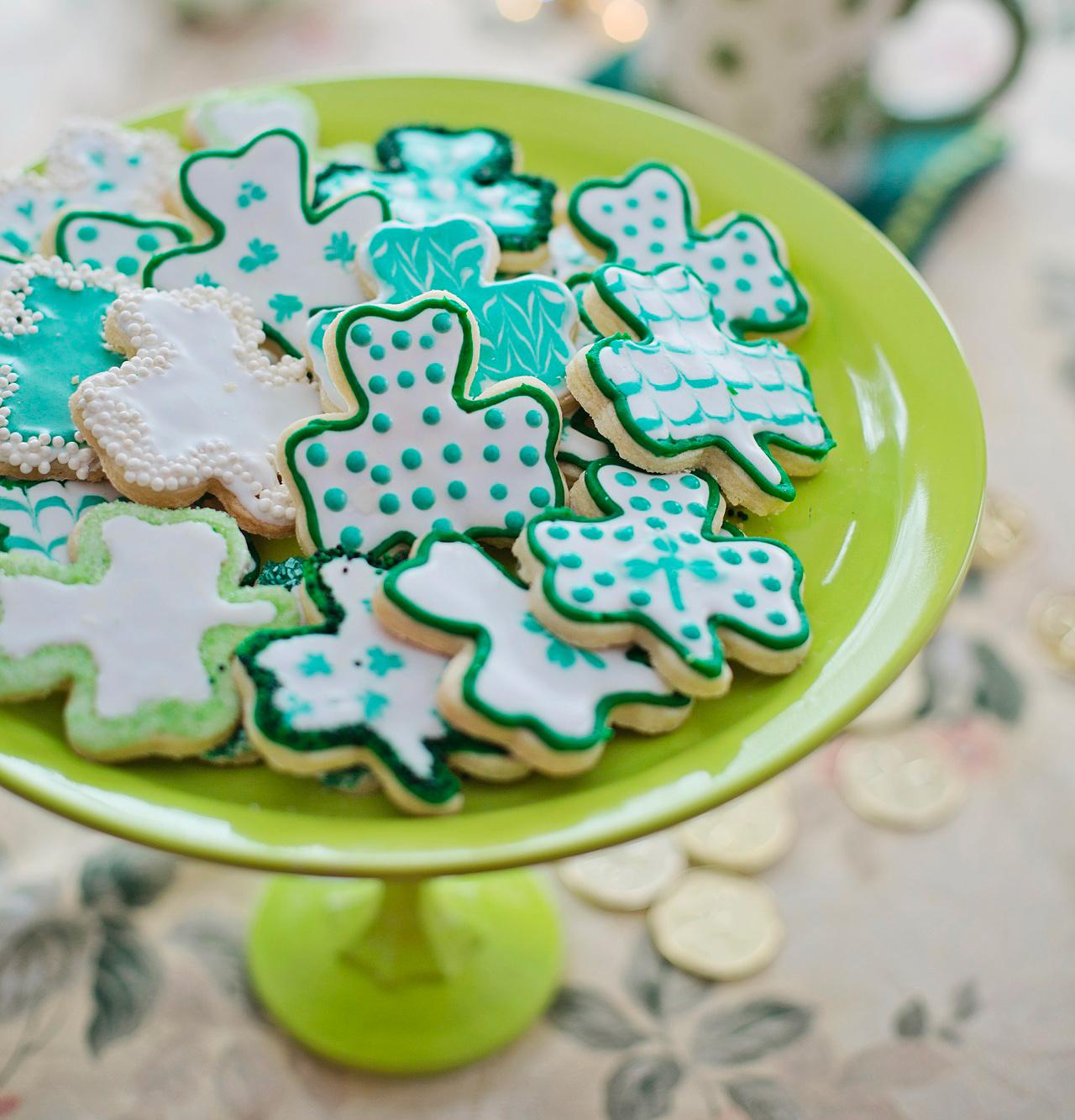 Biscuits de la Saint-Patrick