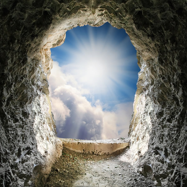 Lumière pascale, résurrection du Christ