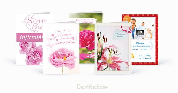 cartes papier journée des infirmières