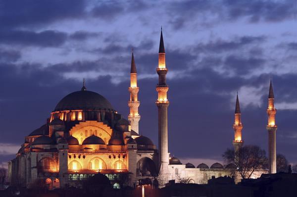 La mosquée d'Istambul