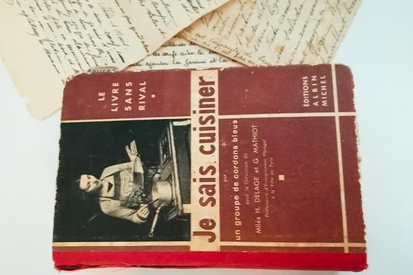 Livre de Ginette Mathiot : Je sais cuisiner, éditions Albin Michel, 1932