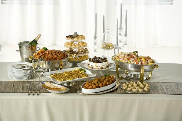 buffet de mariage