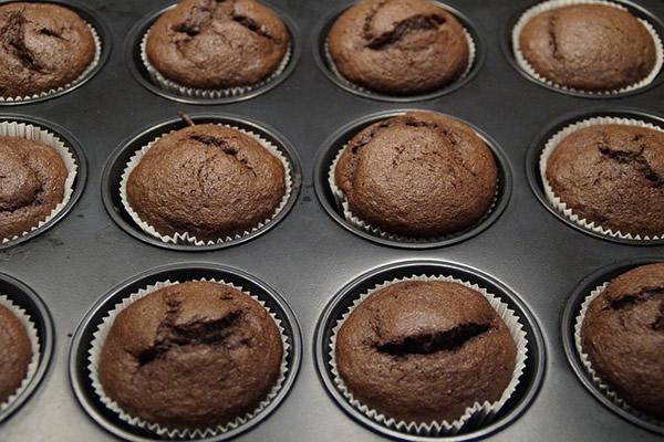 Préparation des muffins