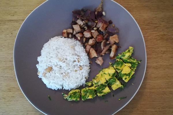 Préparation du Riz gourmand aux saveurs d'ailleurs