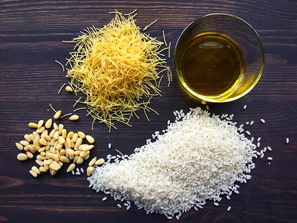Recette de riz au vermicelles